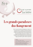Lettre n°9 – Les grands paradoxes du changement.