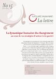 Lettre Nature Humaine n°15 – Adapter nos stratégies d'action à nos publics (1)